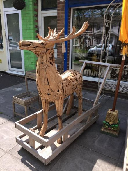 Driftwood Deer Large